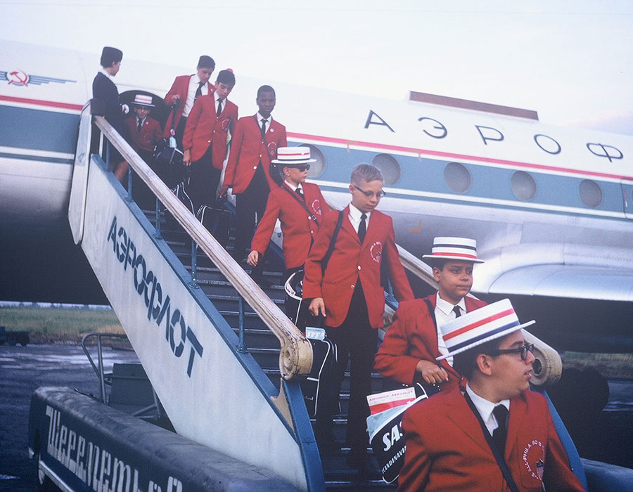 Landing in Russia